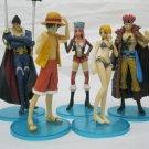One Piece Action Figures - Luffy,Jewellery Bonney,Eustass Kid,Sexy Nami,X-Drake