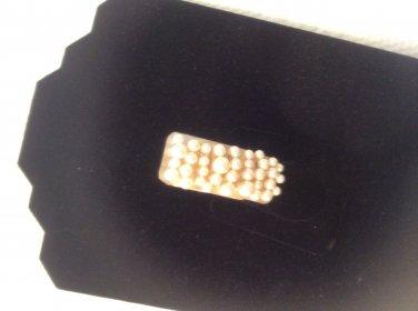 Pearl & layered shell ring