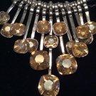 Square Drop Necklace Set