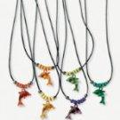 Acrylic Dolphin Necklace