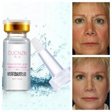 Natural Pure Firming Collagen Strong Anti Wrinkle HYALURONIC ACID Serum