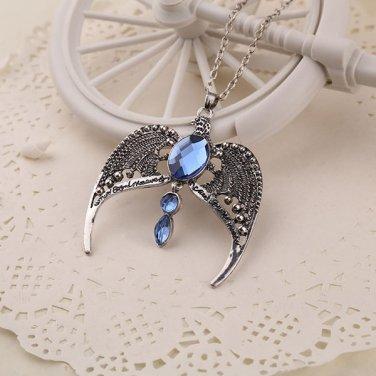 Great Ravenclaw Lost Diadem Tiara Crown Horcrux Harry Potter Necklace Pendant