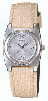 CASIO LTP1209E-7A LADIES LEATHER BAND CASUAL ANALOG DRESS WATCH