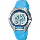 CASIO LW200-2B LADIES BLUE DIGITAL SPORTS WATCH 10 YEAR BATTERY CHRONOGRAPH NEW
