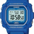 CASIO F108WH-2A MENS BLUE CLASSIC DIGITAL LCD SPORTS WATCH LED STOPWATCH NEW