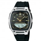 CASIO AW81-1A2 MENS DIGITAL ANALOG 30 PAGE DATA BANK WATCH 10 YEAR BATTERY