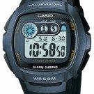 CASIO W210-1BV MENS 50M DIGITAL SPORTS WATCH DUAL TIME DAILY ALARM STOPWATCH