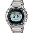 CASIO WS200HD-1A MENS TOUGH SOLAR 120 LAP MEMORY STAINLESS STEEL WATCH ALARM