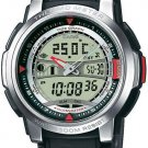 CASIO AQF100W-7B MENS TIDE GRAPH DIGITAL THERMOMETER SPORTS WATCH RESIN BAND