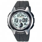 CASIO AQ160W-7B MENS FULL LCD ANALOG DIGITAL RESIN SPORTS WATCH 100M STOPWATCH