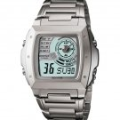 CASIO EFA123D-7A MENS EDIFICE WORLD TIME STAINLESS STEEL DRESS WATCH ALARM