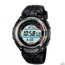 CASIO SGW200-1V MENS PEDOMETER 150-LAP MEMORY WATCH - DISTANCE / ACCELERATION