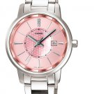 CASIO LTP1312D-4A LADIES PINK DIAL FASHIONABLE MODERN WATCH STAINLESS STEEL