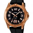 CASIO MTD1062-1A MENS 100M ANALOG DIVER SPORTS DRESS WATCH ION PLATED STEEL CASE