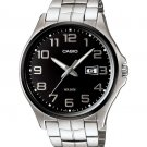 CASIO MTP1319BD-1AV MENS 50M STAINLESS STEEL MODERN DRESS WATCH LARGE NUMBERS