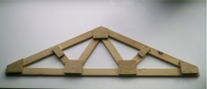 How To Build Any Size Roof Trusses Plans Shed House With A Level Soffit