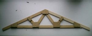 Truss Plans to show you how to build your own wood roof  for a shed garage house shop cottage