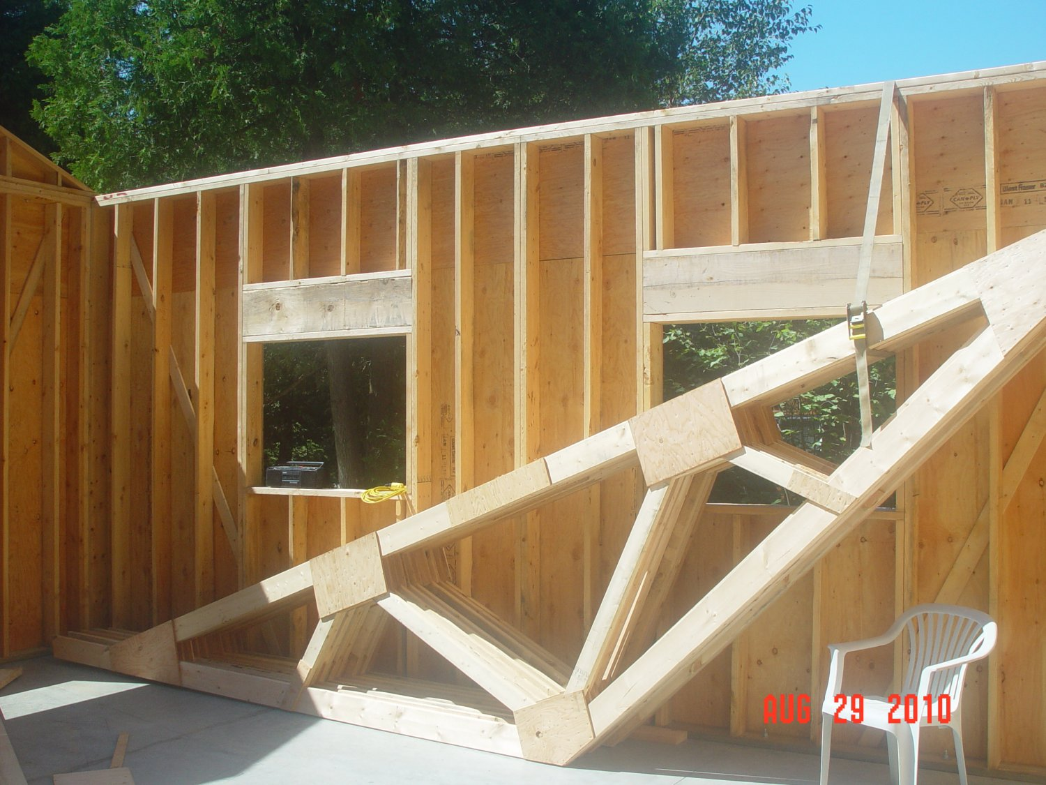 Plans To Show You How To Build Exterior Walls For Your Garage Shed
