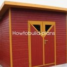 Plans How To Custom Build Your Own Half Trusses On Lean To Roof House Cabin