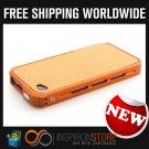 New INSPIRON Element Case Vapor Pro Chroma Orange Edition For Iphone 4/4s Free Shipping