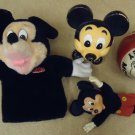 Disney Mickey Mouse Talking Doll Hand Puppet Ball
