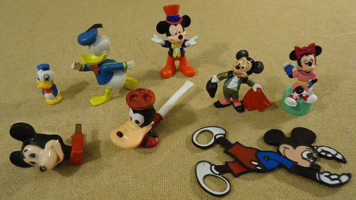 Disney Mickey Minnie Mouse Donald Duck Toys Goofy Pipe