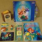 Golden Disney Little Mermaid Stereo laser Videodisc Book