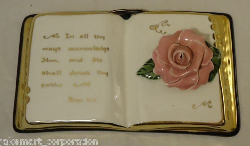 Porcelain Book Proverbs 3:6
