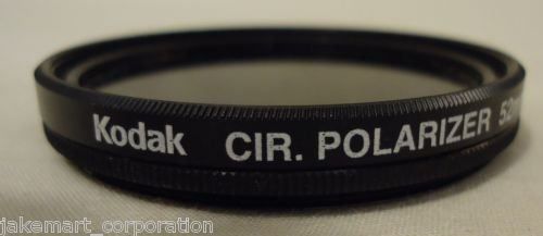 Camera Lens Kodak Cir. Polarizer 52mm