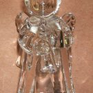 Angel Glass Candle Holder 4 inches tall