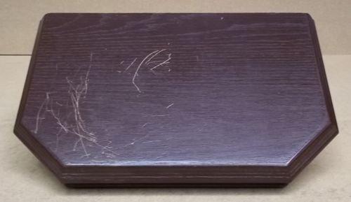 Wall-Mounted Shelf Wooden 19in x 13in x 10in Item D