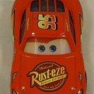 Rare Disney Pixar Cars Hologram Moving Eyes McQueen Rust-eze Metal Plastic 1209E