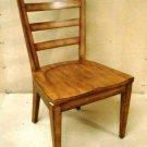 Ethan Allen Tango Ladderback Side Chair 39in x 24in x 2