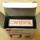 "Universal Pre-Inked Message Stamp ""Confidential"""