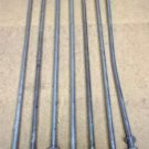 Bolts 27in x 7/16in Steel Set of 7 Galvanized