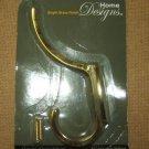 "Stanley Hook 5 1/2"" Coat/Hat S806-968 Bright Brass Fini"