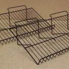 Wire Countertop Racks 24in x 12in x 6in Lot of 2