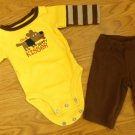 Carter's One-piece with Pants Boy NB 5-8lb. Cotton 7160