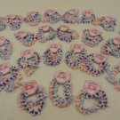 Stretchy Dolphin Friendship Bracelets Qty 29 Sets of 3 Elastic Plastic