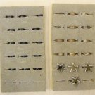 Adjustable Toe Rings Qty 31 Includes Jewelry Display Deal