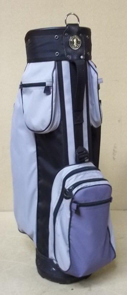 Bennington Golf Bag 7 Pockets Gray Black