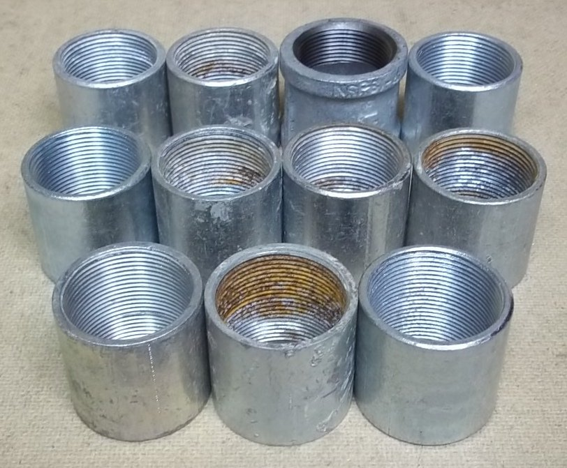 Coupings for 1 1/2in Conduit Lot of 11