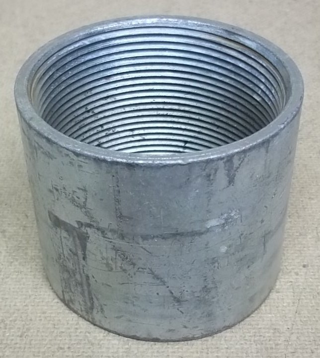 Conduit Coupling 3in Steel Threaded