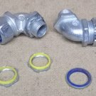 Assorted Conduit Fittings 1/2in Lot of 7