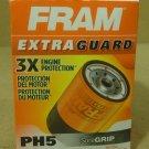 Fram PH5 Oil Filter 5 1/2in x 4in x 4in Metal