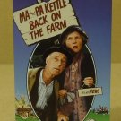 MCA Universal Ma And Pa Kettle Back On The Farm VHS Movie  * Plastic Paper