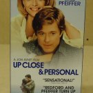 Touchstone Up Close & Personal VHS Movie  * Plastic Paper