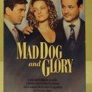 MCA Universal  Mad Dog and Glory VHS Movie  * Plastic *