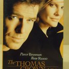 MGM Pictures The Thomas Crown Affair VHS Movie  * Plastic *