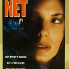 Columbia Pictures The Net VHS Movie  * Plastic *